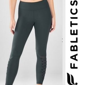Fabletics x Demi Lovato Solar Lace Up Leggings
